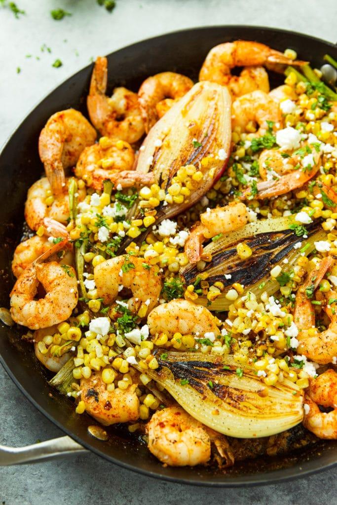 shrimp skillet
