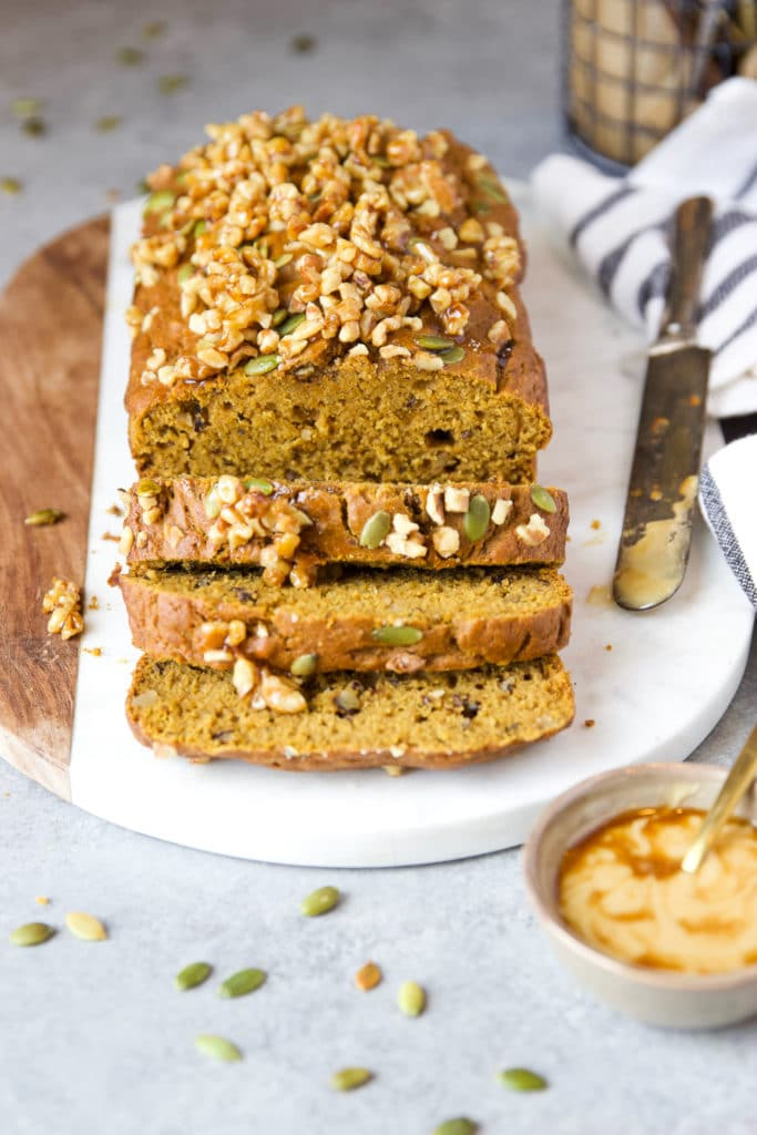 Bread with nuts and seeds