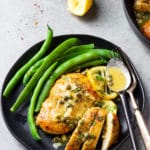 Skinny Lemon Chicken Piccata