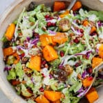 Roasted Garlic Vegetable Salad