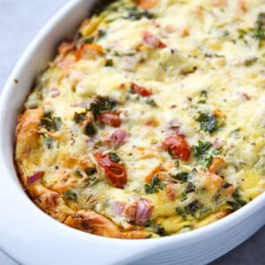 salmon breakfast casserole