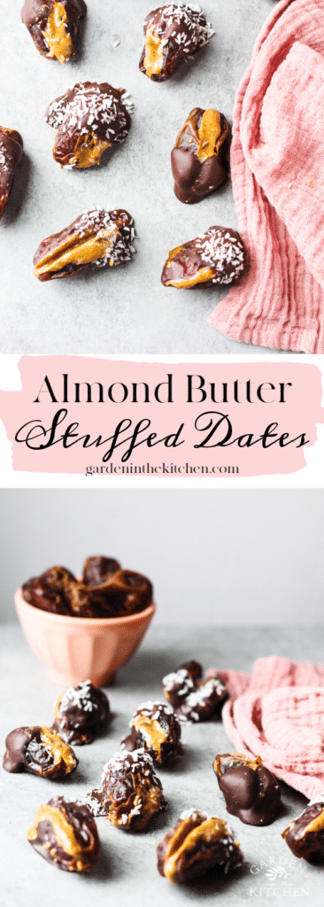 Dates covered with chocolate and coconut flakes