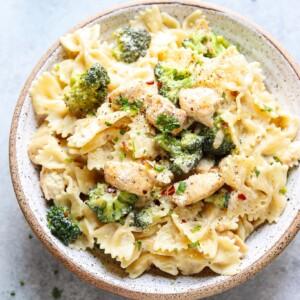 instant pot creamy alfredo pasta