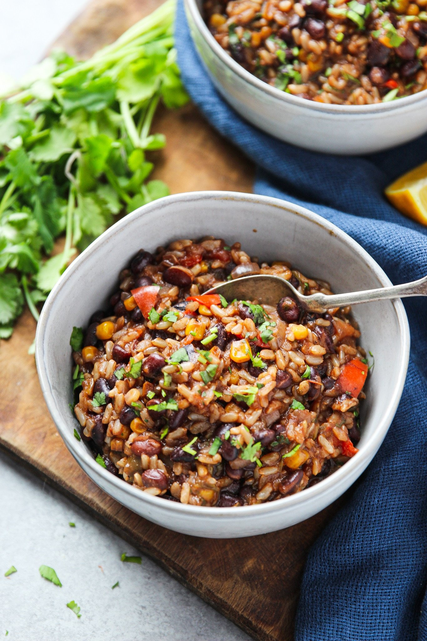 Mexican Rice And Beans Instant Pot Garden In The Kitchen