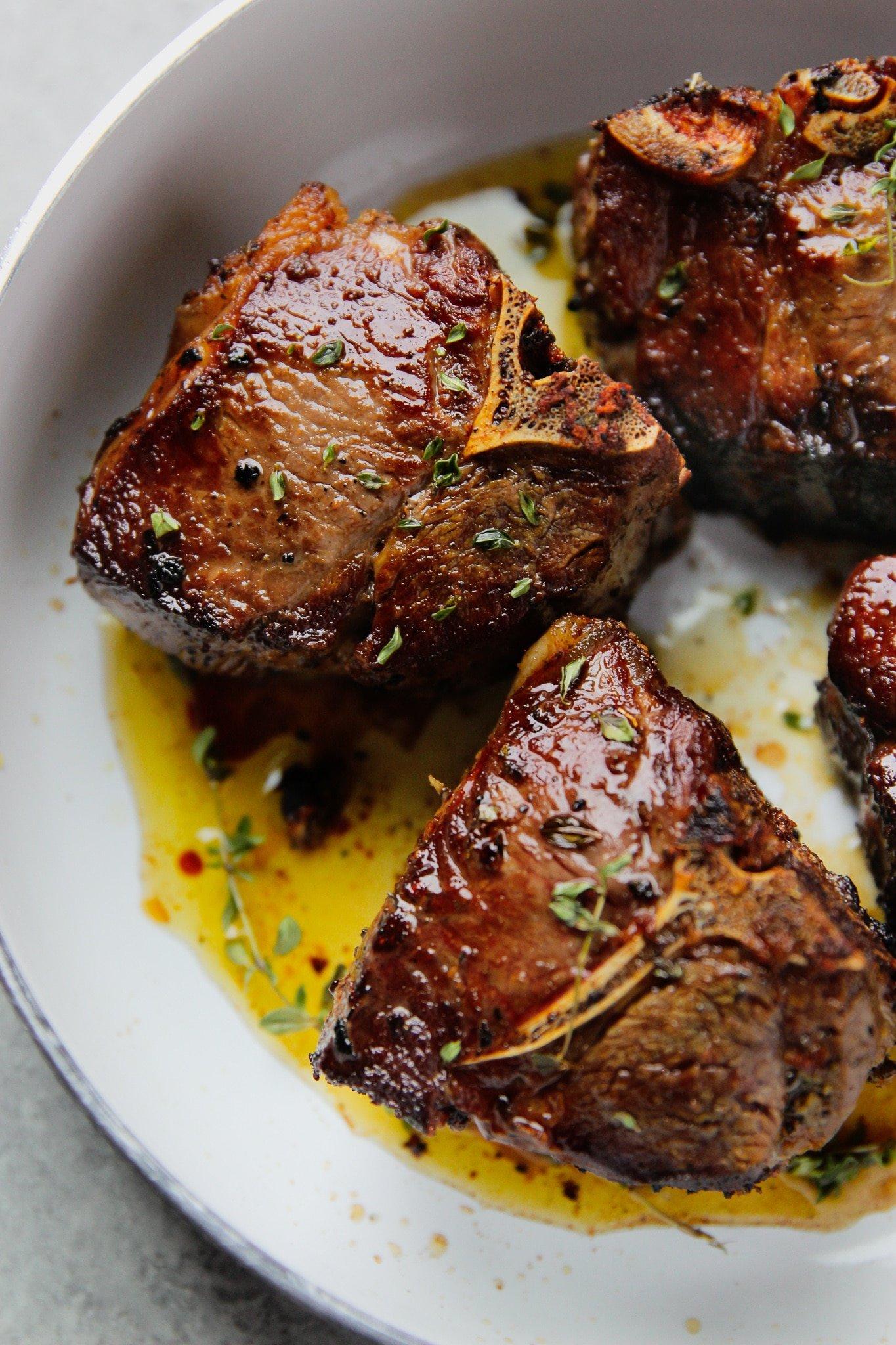lamb chops recipe loin Garlic & Herbs Lamb Loin Chops