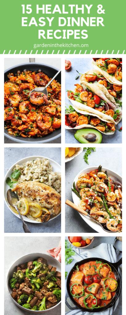 easy dinner recipe round up