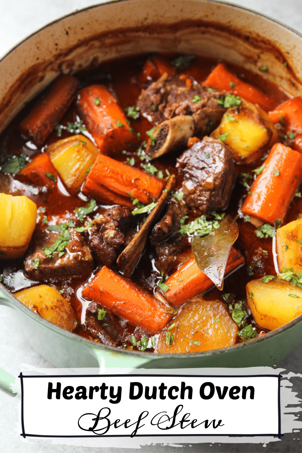 Hearty Dutch Oven Beef Stew Garden In The Kitchen