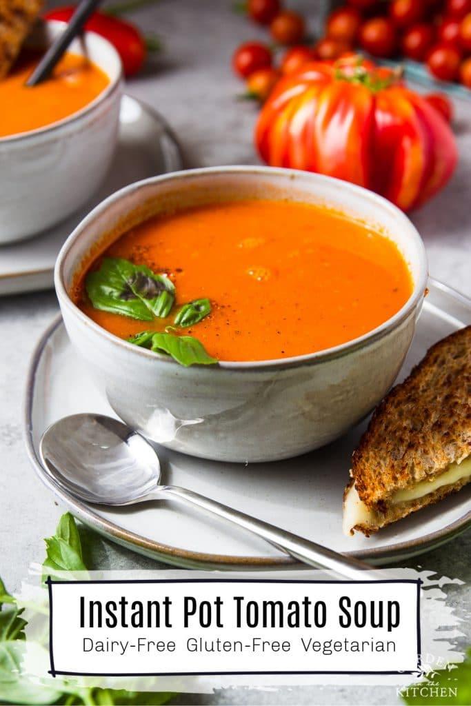instant pot tomato soup