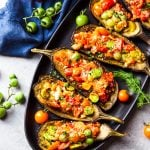 Tomato Stuffed Eggplant Recipe