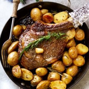 ribeye steak stovetop