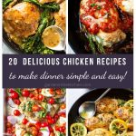 20 Delicious Chicken Recipes