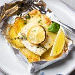 Fish-in-Foil with Potatoes