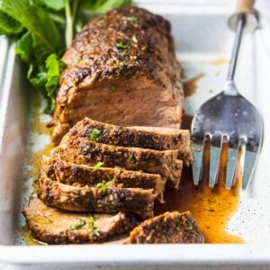 pork tenderloin in oven