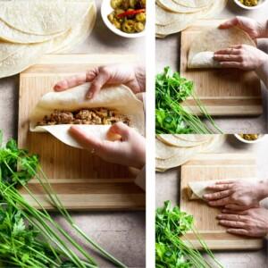 how to make beef enchiladas