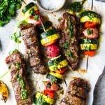 Churrasco Steak with Grilled Veggies