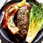 Surf and Turf Steak & Lobster Dinner