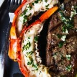 steak and lobster dinner for two