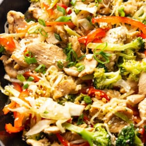 healthy chicken stir fry recipe