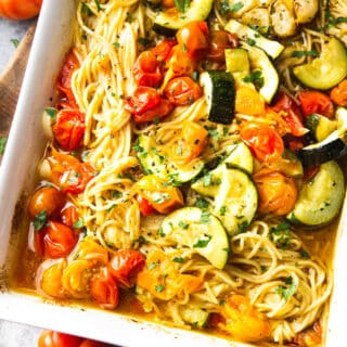 rosted vegetable pasta
